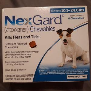 NexGard 10.1-24 lbs Dog Flea & Tick Prevention